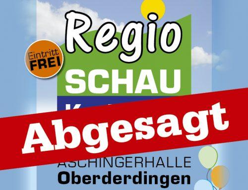 Regioschau Kraichgau in Oberderdingen abgesagt